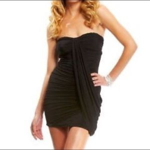 Bebe short black club going out dress